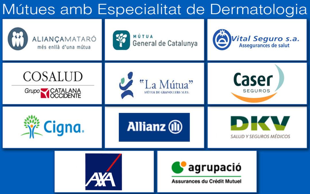 Mútues per Servei de Dermatologia